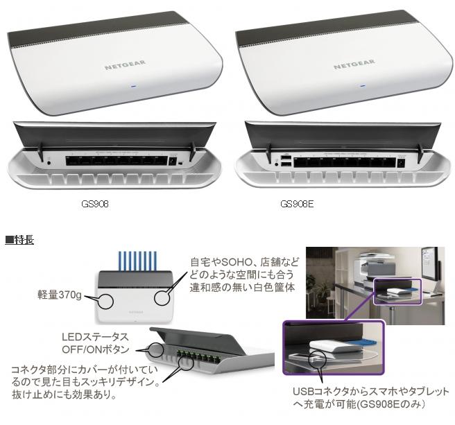 GS908 GS908E